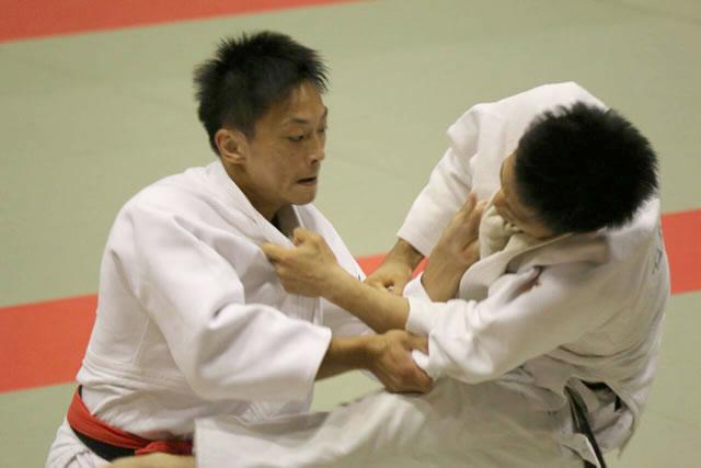 青木(左)