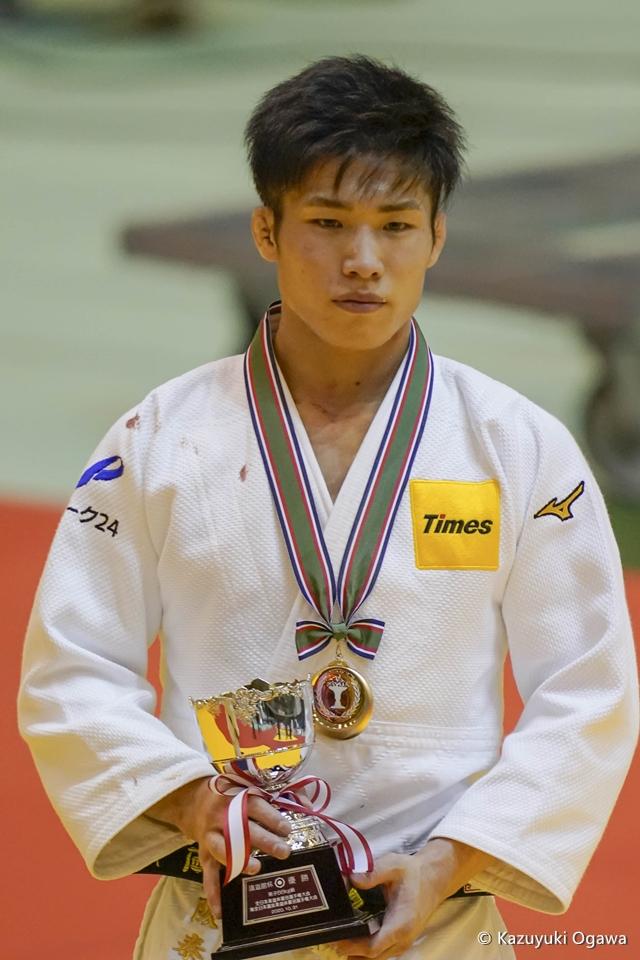 藤阪泰恒(66kg級)優勝