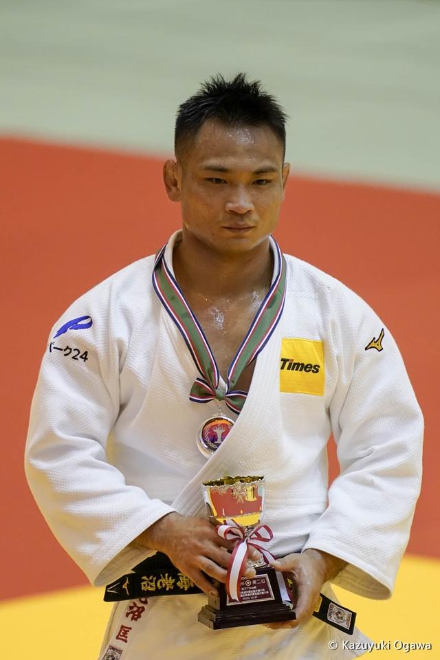 海老沼匡(73kg級)準優勝