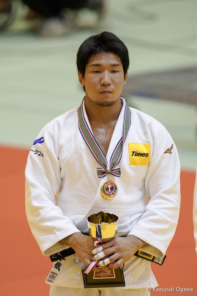 小原拳哉(81kg級)優勝