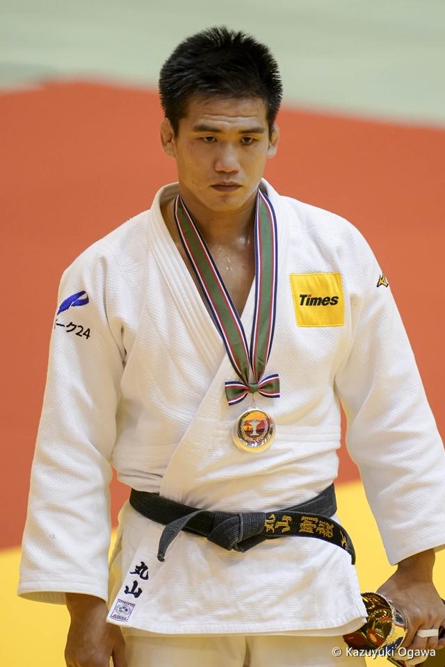 丸山剛毅(81kg級)準優勝