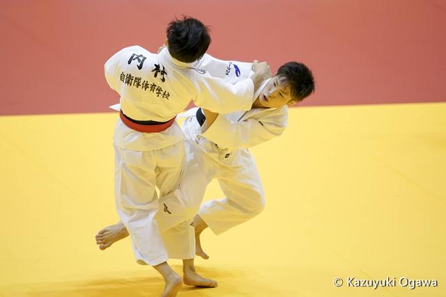 藤阪(右)準決勝