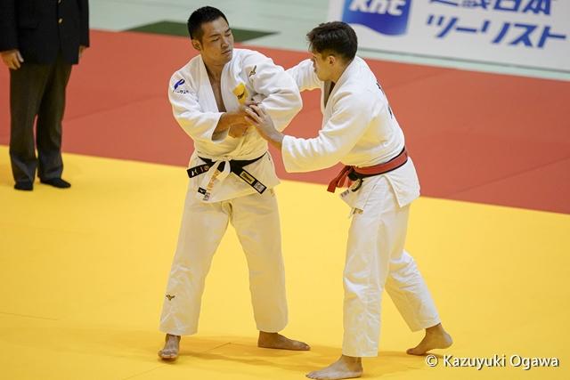 北野(左)3回戦