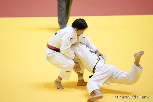 小原(左)3回戦