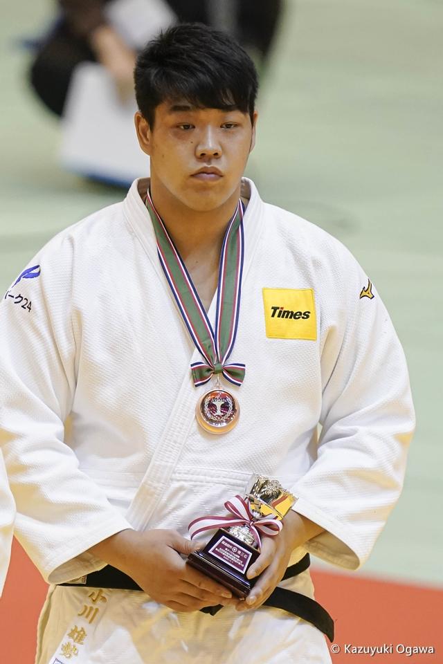 小川雄勢(100kg超級)3位