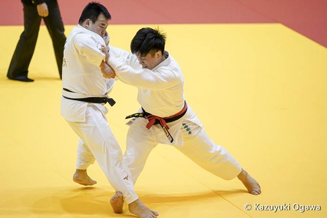 田嶋(右)2回戦