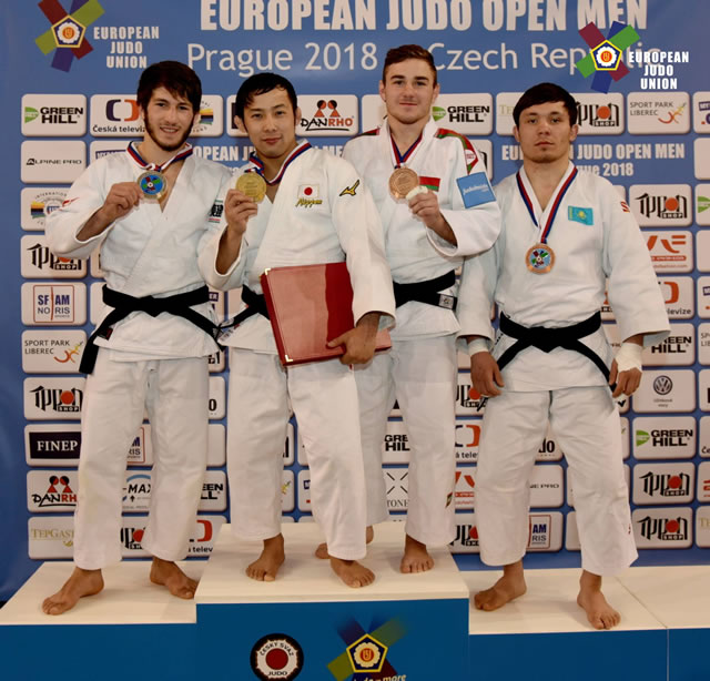 European Judo Open Men Prague 2018-66kg