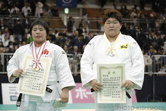 78kg超級 朝比奈(右)