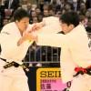 81kg級 小原(左)