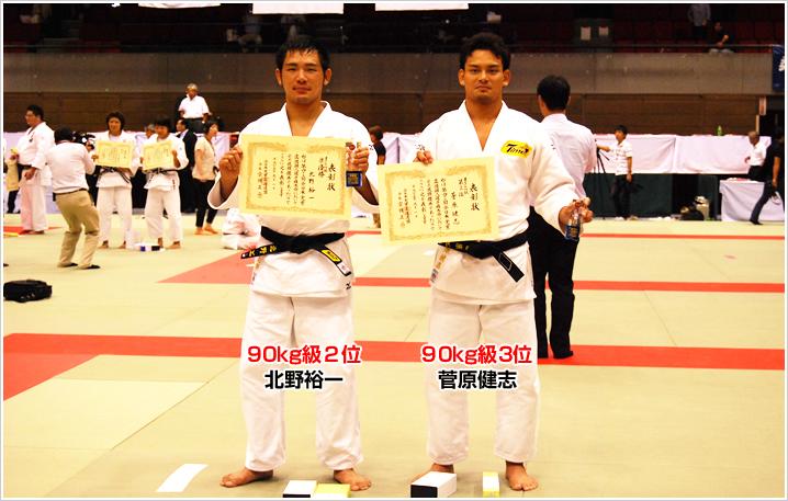 2013年 全日本実業柔道個人選手権大会入賞者